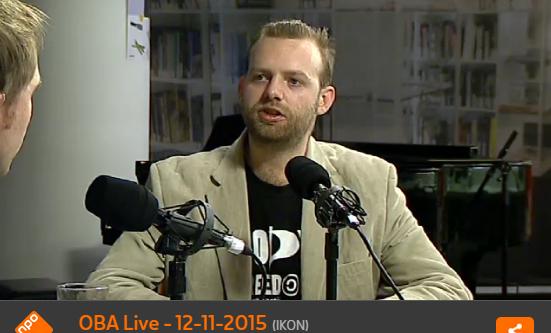 Matthijs OBA live Pontier