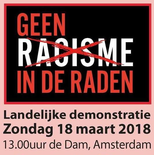 Demonstreer mee tegen racisme