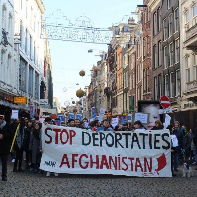 Protest: stuur Afghanen niet terug